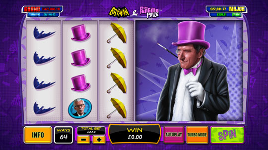 Batman The Penguin Prize Online Slot