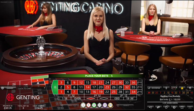 genting casino online roulette