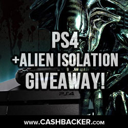 PS4 + Alien Isolation Giveaway