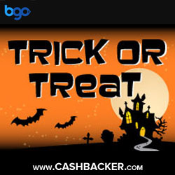 Trick or Treat Prizes at bgo Bingo