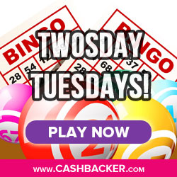 Twosdays Tuesdays at Mecca Bingo