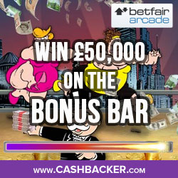 Betfair's Bonus Bar
