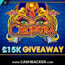 £15000 Cleopatra Giveaway