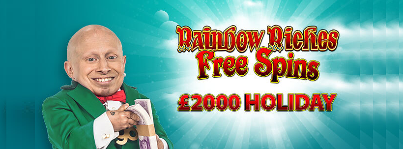 Rainbow Riches Holiday Giveaway