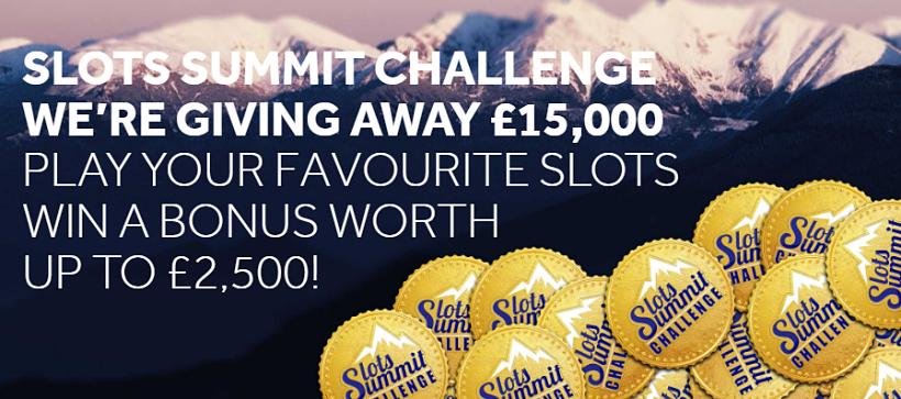 Slots Summit Challenge