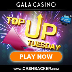 top up tuesday - gala casino