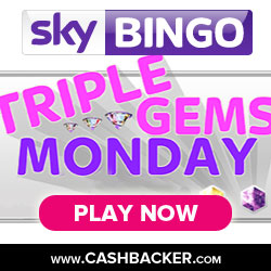 triple gems monday - sky vegas